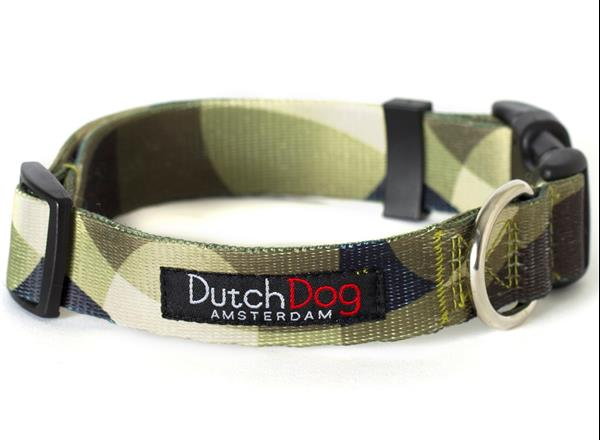 Dutch Dog Amsterdam Fashion Dog Collar Over the Moon