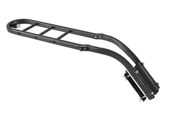 Britch front or rear universal bicycle rack