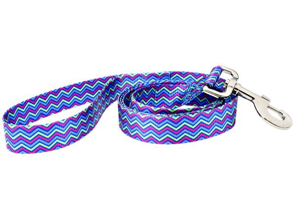 Fashion dog leash - 5ft Heightened Hyacinth
