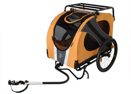 DoggyRide Novel10 dog bike trailer