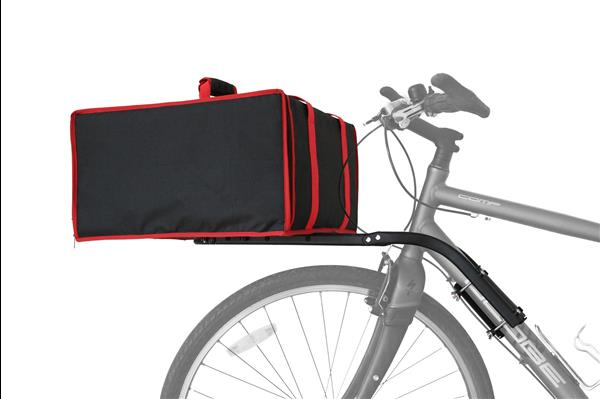 DutchDog TakeOut pizzaa/meal delivery bag on Britch