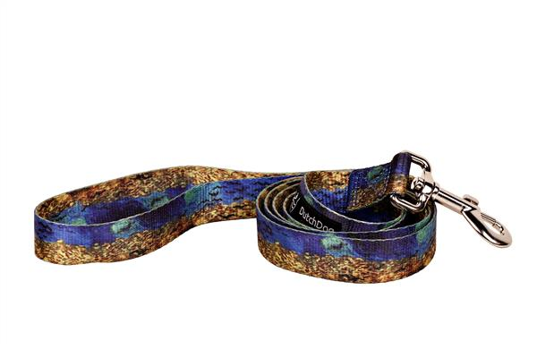 Van Gogh design fashion leash 5ft Wheatfield